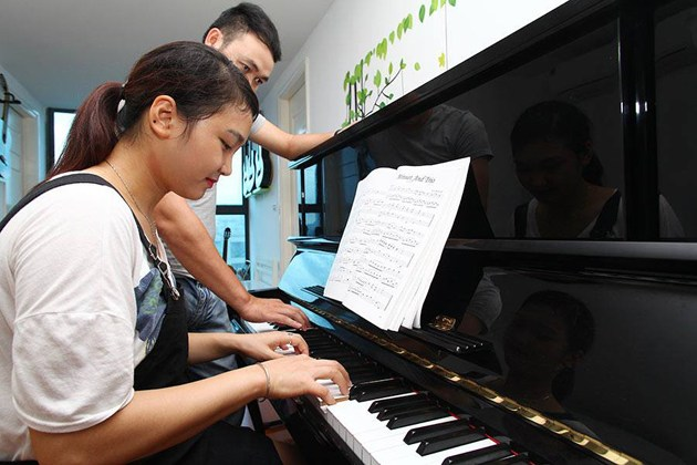 gia sư dạy đàn organ